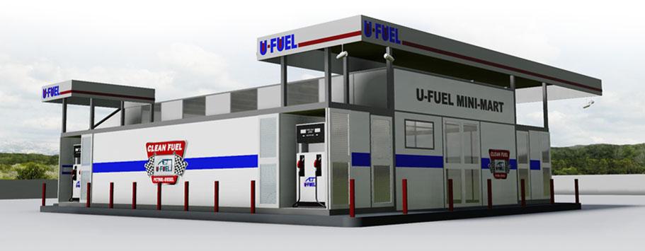 U Fuel Aboveground Mini Mart Fuel Stations